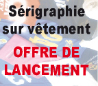 Impression en srigraphie